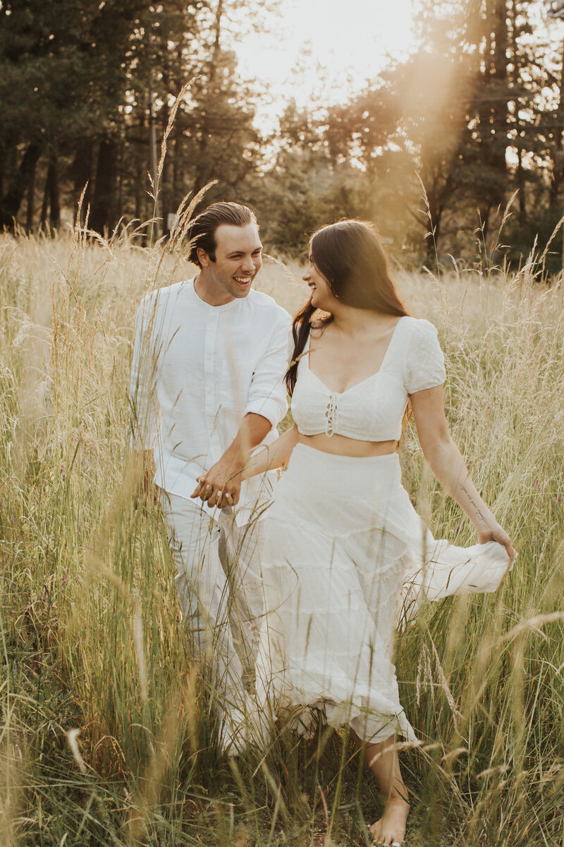 Engagement Photo Nevada City by Cori Ann Photography
