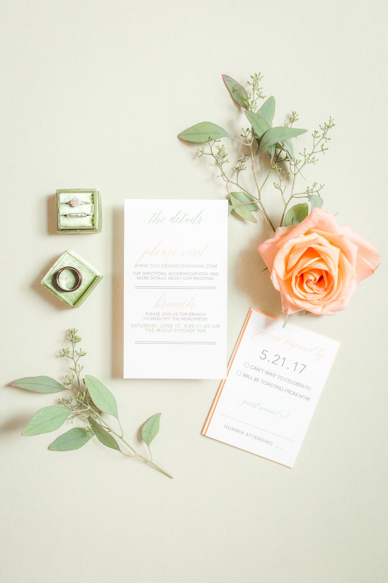 Wedding invitation by Art Paper Scissor