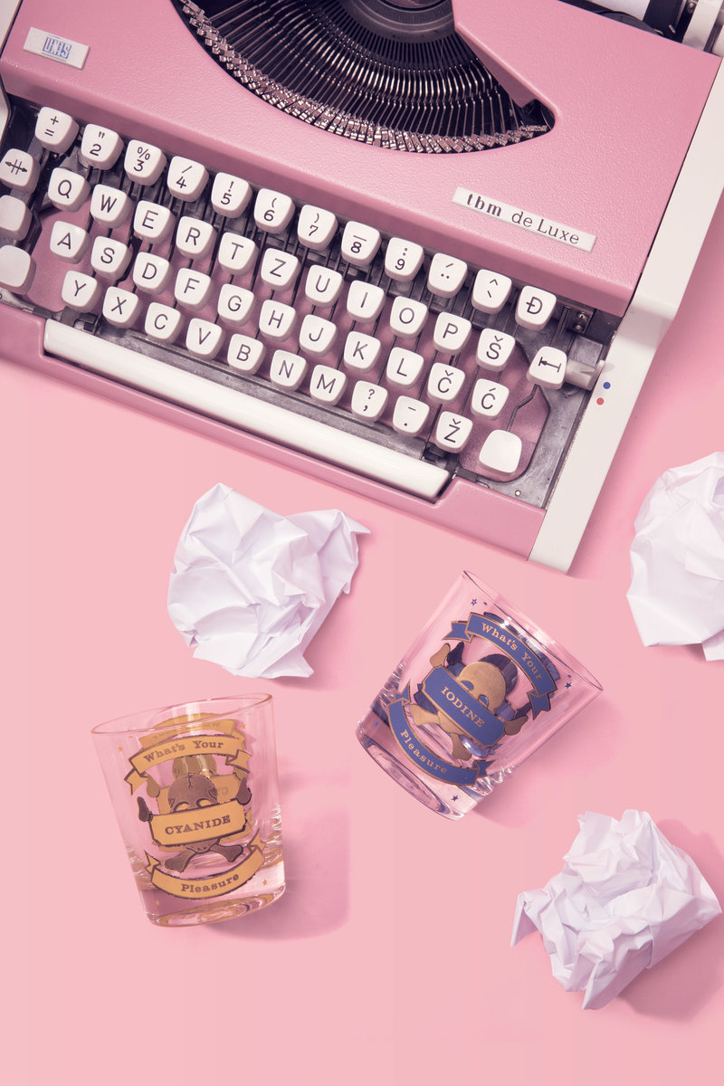 So Creative Glasses and Typewriter