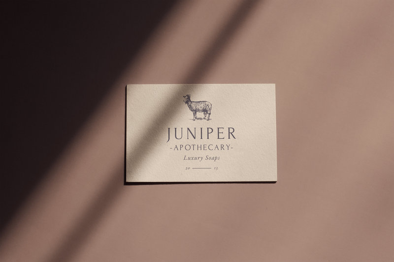 Juniper Apothecary_Business Card Mockup