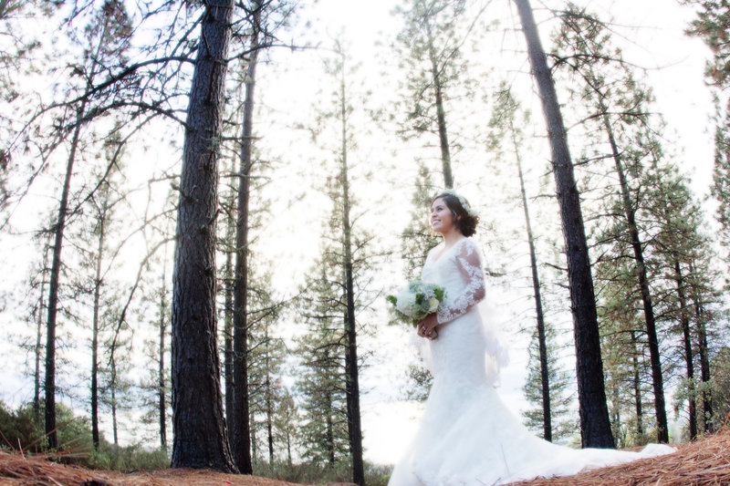 wedding photography, forest wedding