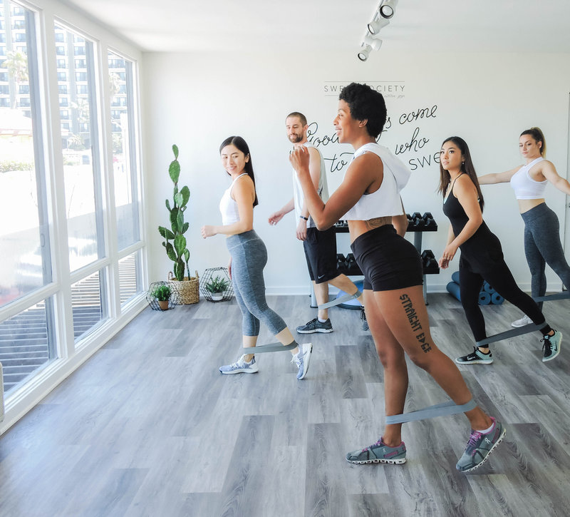 schedule fitness classes in san diego