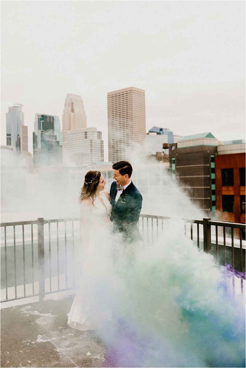 Industrial Minneapolis Wedding Studio 29 Photography