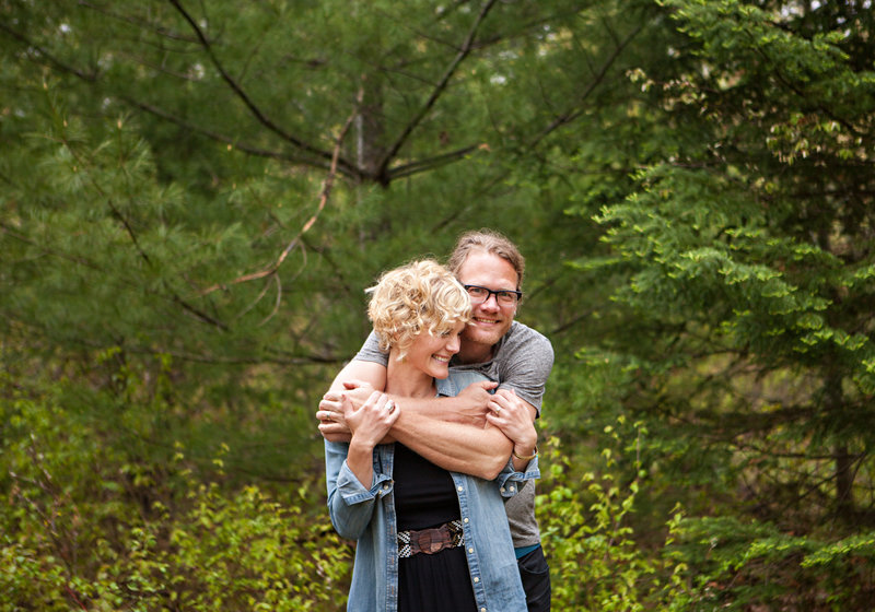 Al and Lyndsey Johnson, wedding photographers in Duluth and Superior