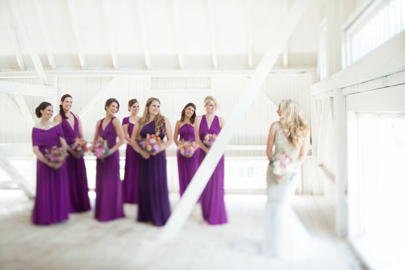 Purple and pink ashford estate wedding in new jersey