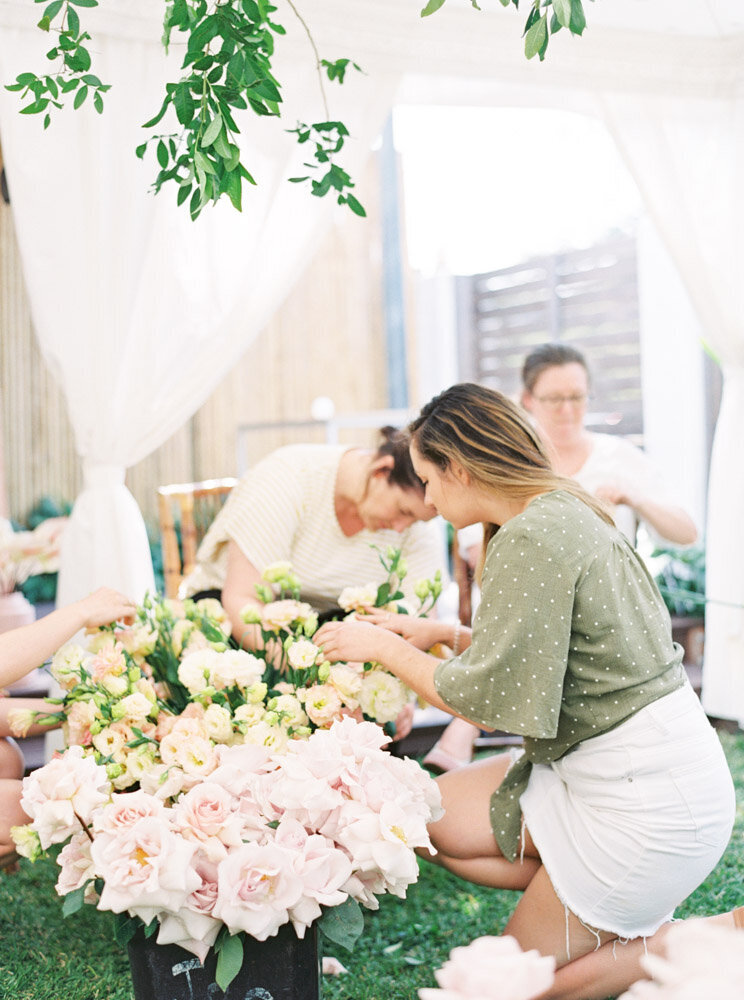Byron Bay Wedding Photographer Sheri McMahon - Oh Flora Workshop on Fine Art Film - Romantic Spring Wedding Ideas -00056