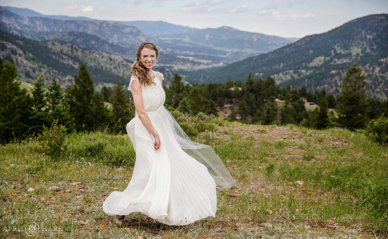 Happy Colorado Wedding photography Mountainside Lodge YMCA of the Rockies