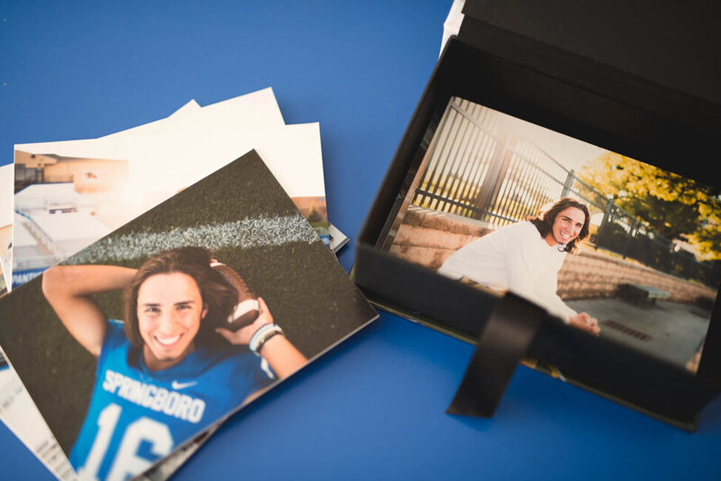cincinnati senior photographer print box