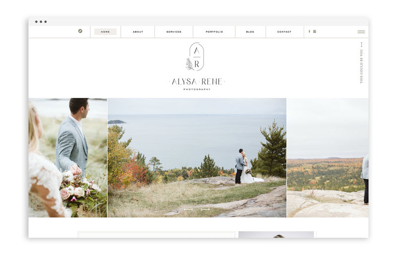 Alysa Rene Photography - Custom Brand and Showit Web Design Website by With Grace and Gold - Photo - 30