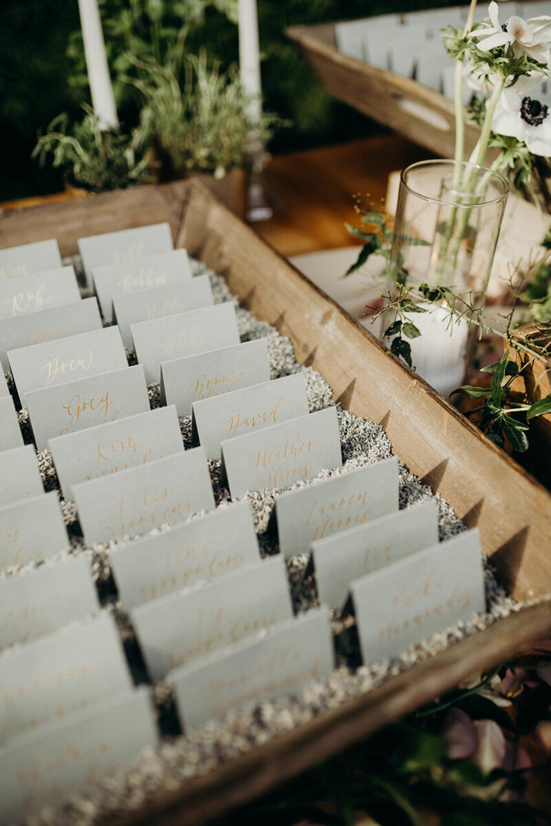 pirouettepaper.com | Wedding Stationery, Signage and Invitations | Pirouette Paper Company | Escort Cards 77