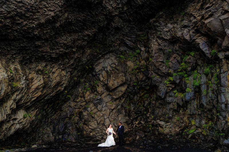 destination wedding photography in iceland