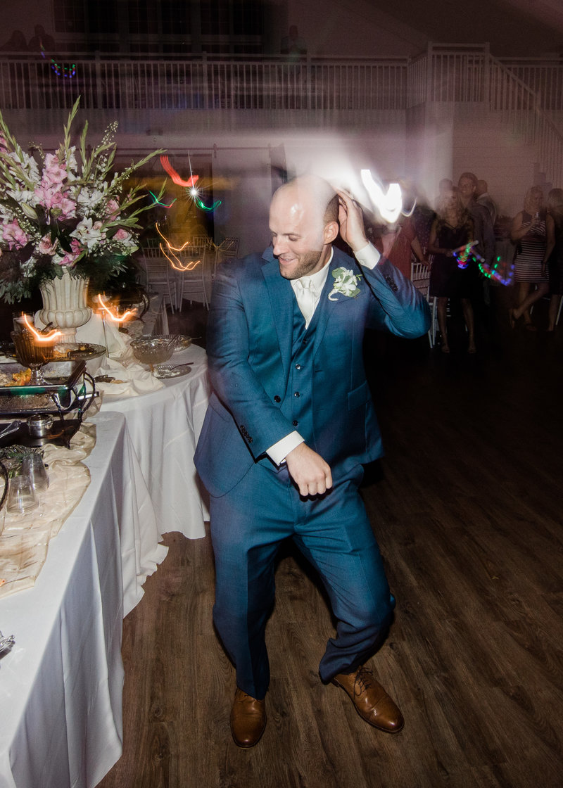 Groom dances to the Stanky Leg / Katie Childs Photo
