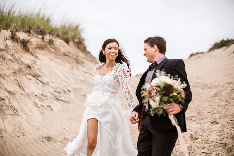 Indiana Dunes Styled Elopement-045