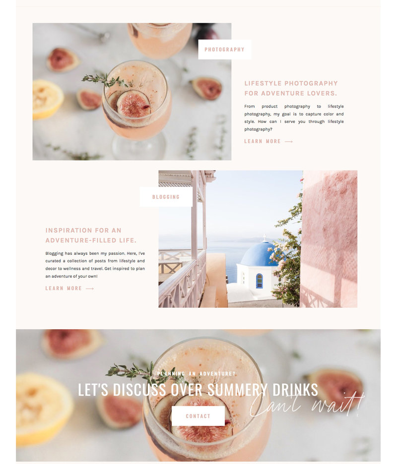 With Grace and Gold - Best Showit Design Designs Designer Designers Theme Themes Template Templates Web Website Websites for Photographers Creatives Small Business Owners - 42