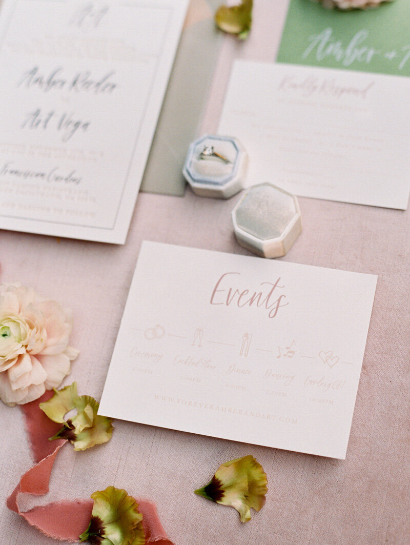 pirouettepaper.com | Wedding Stationery, Signage and Invitations | Pirouette Paper Company | Franciscan Gardens Wedding | Mallory Dawn Photography _ (16)