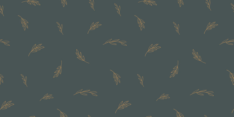 Branded pattern for Cultivating Your Story. Branding crafted by Rhema Design Co.