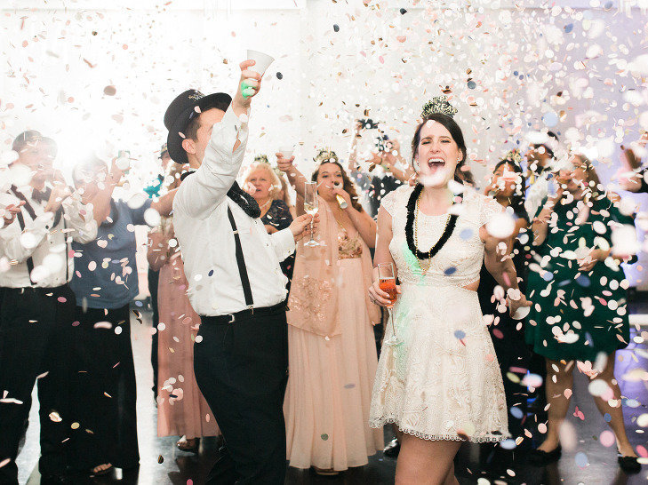 A fun-filled countdown to the near year in this wedding film