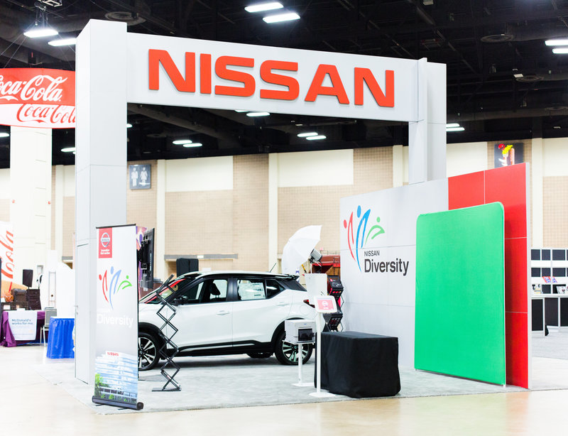 Nissan Diversity Photo Booth Rental