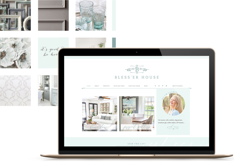 Handcrafting Heartfelt Websites + Branding for Female Creatives | by Viva la Violet | Showit | WordPress | Bless'er House