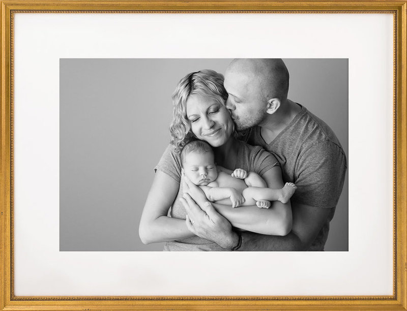 Newborn Photography with Parents | Salt Lake City, Utah