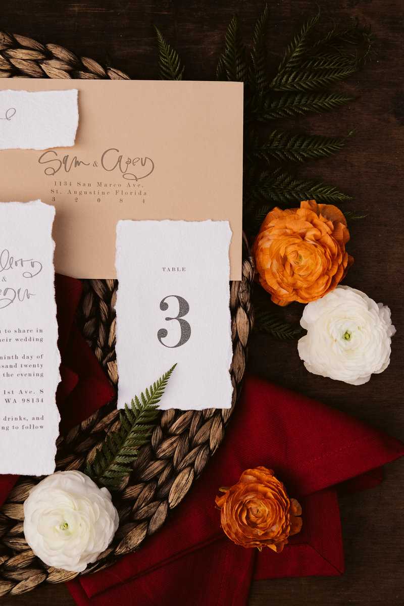 Gorgeous wedding details by Sarah Anne Photo