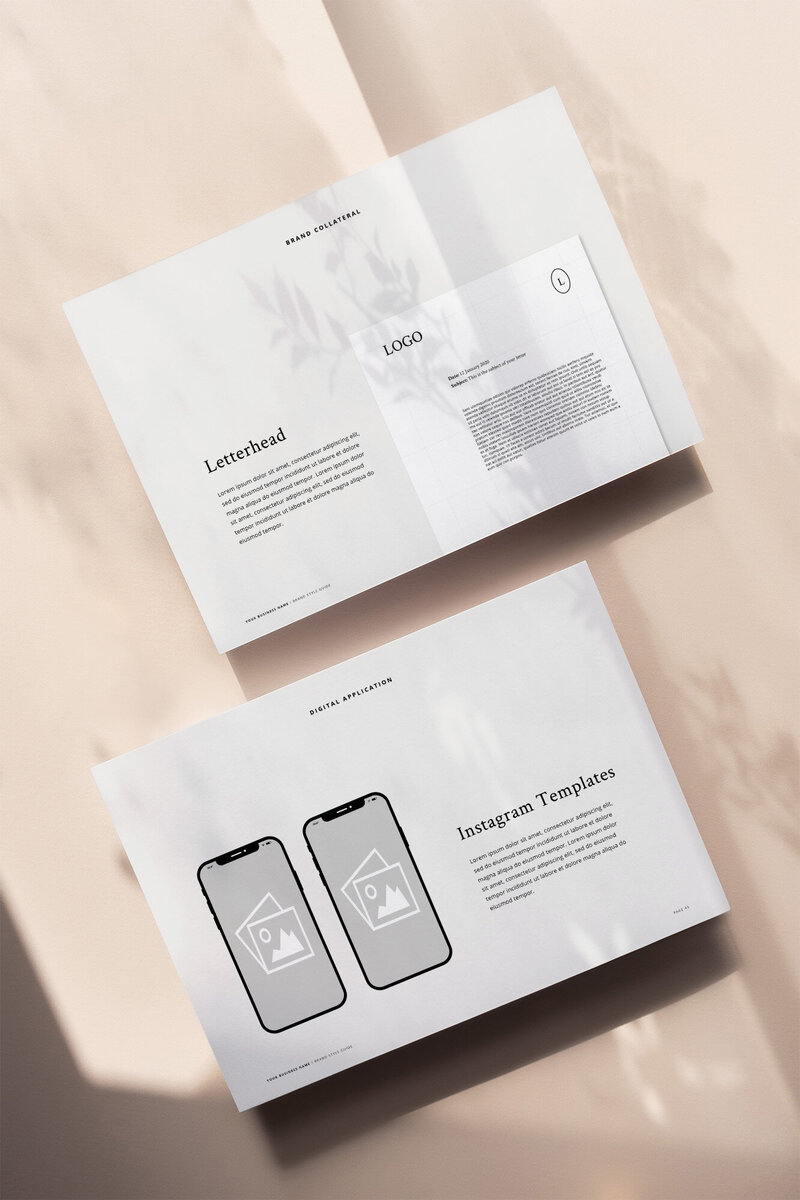 One6Creative_Brand Style Guide Mockup 2