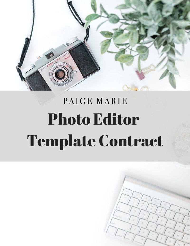 SHOP photo editor template contract