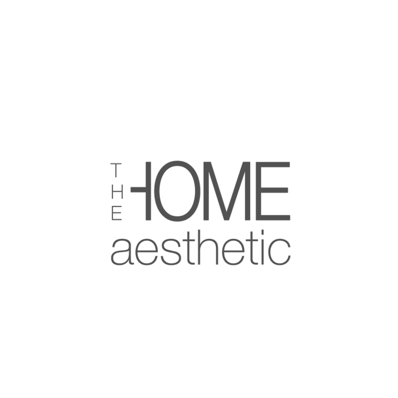 the home aesthetic logo