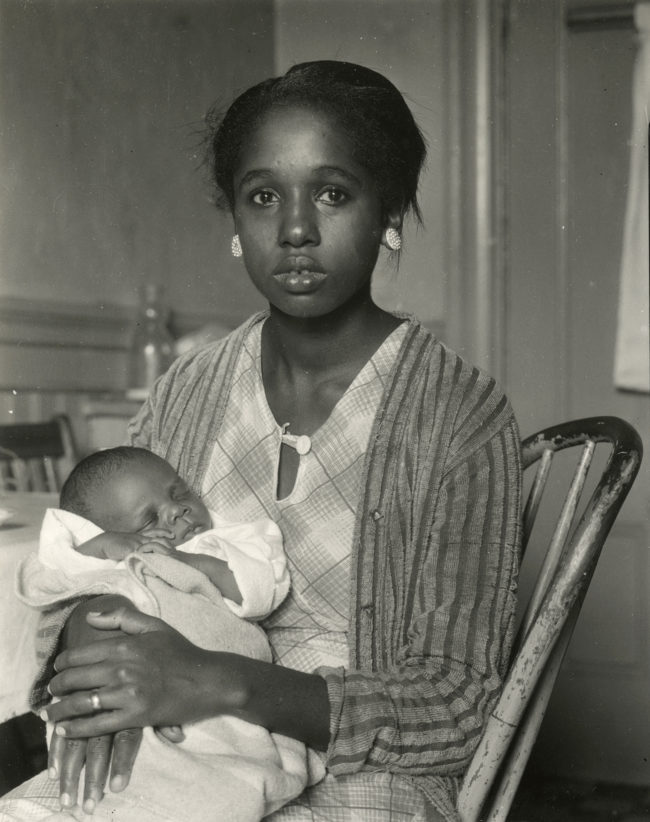 Dorothea Lange _ OMCA Untitled (Mother and Child, San Francisco) (2)