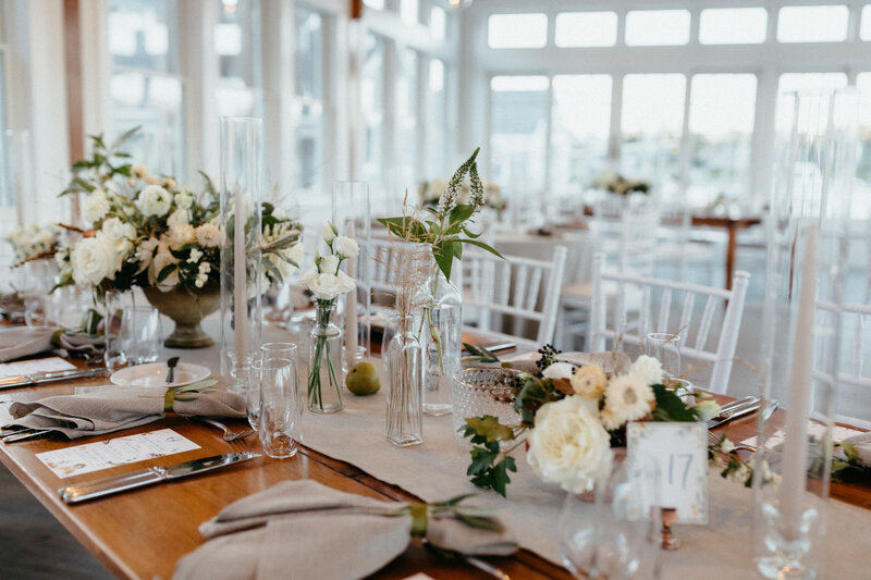 Unique Cape Cod Wedding Venue with Tuscan Inspired Wedding Design