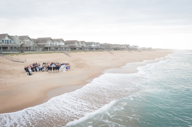 OBX Beach Wedding