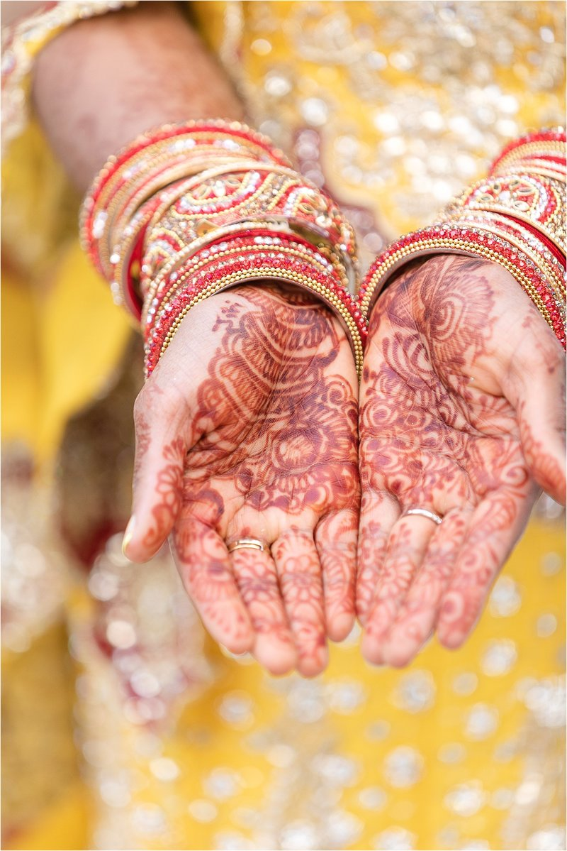 orlando wedding photographers henna hands