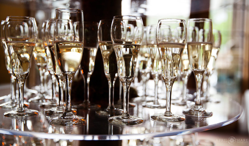 Champagne-Flutes-Tower-from-Gourmet-Cowboy-Catering-and-Events-in-Vail-Colorado