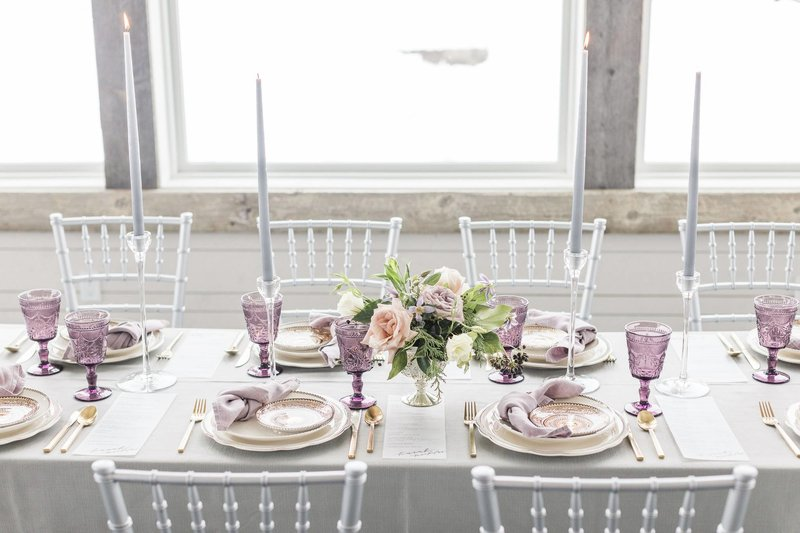 winter pop up wedding