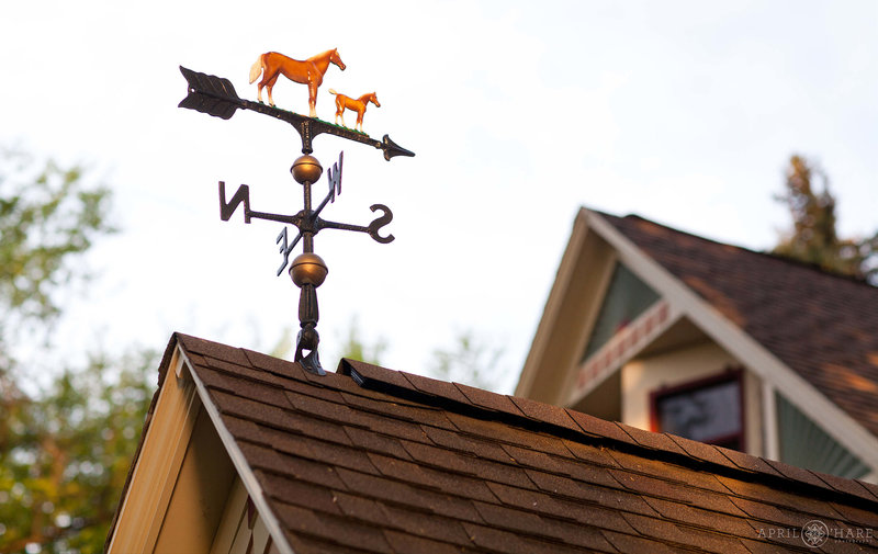 Weather-Vane-at-Wedgewood-Tapestry-House-Fort-Collins-Colorado-Wedding-Venue