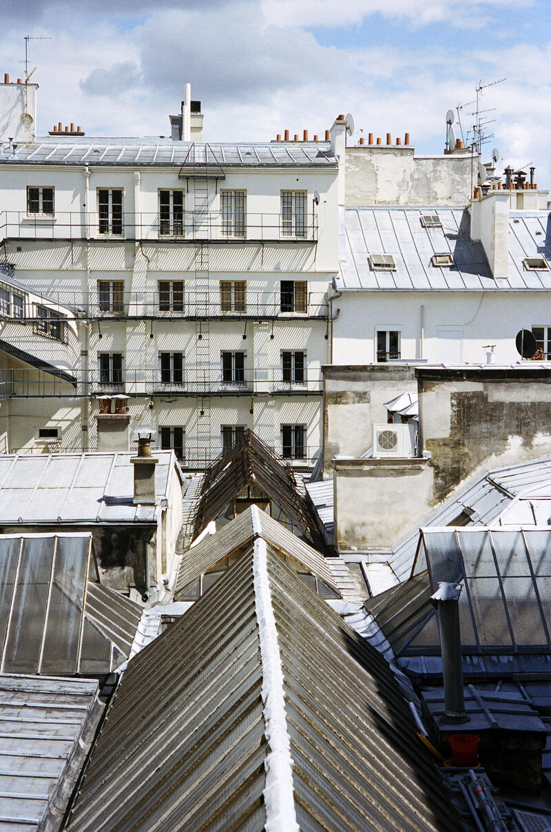 Rooftops Passage des Panoramas