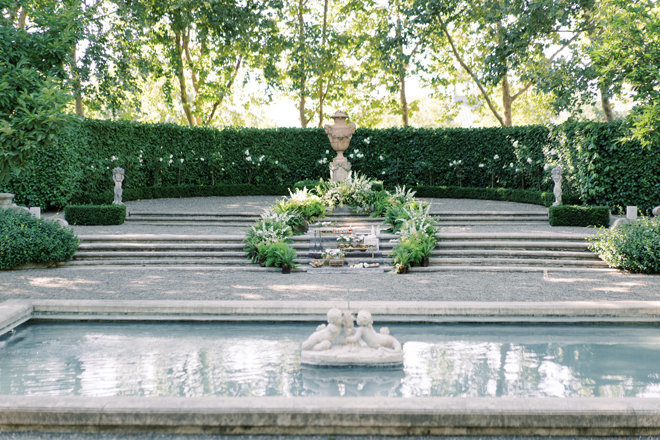 beaulieu gardens wedding ceremony Decore