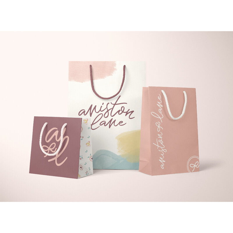 Aniston Lane Packaging Design Etsy Shop