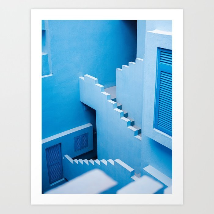 blue-maze-of-muralla-roja-spain-abstract-photograph-architecture-art-prints