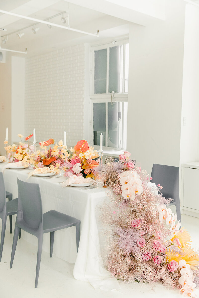 chic elegant wedding table decor design new york hamptons