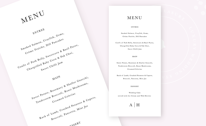 Belle-Measure_Adeline-Wedding-Collection_Menu