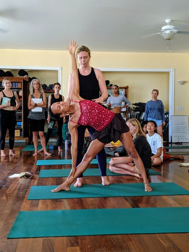 Yoga teacher training class example- Soma Yoga Institute