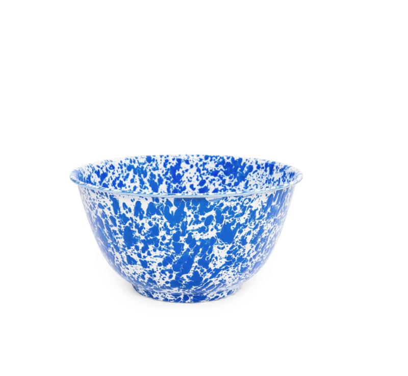 Crow Canyon Blue Salad Bowl