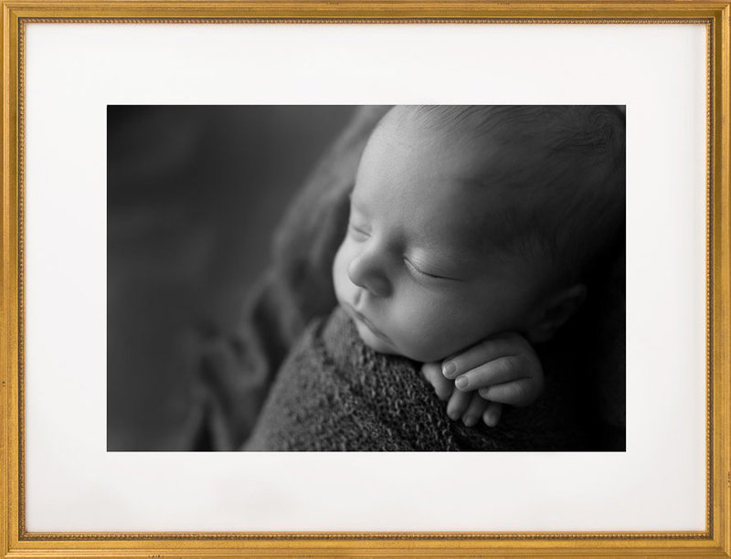 Newborn Photography black and white | Salt Lake City, Utah