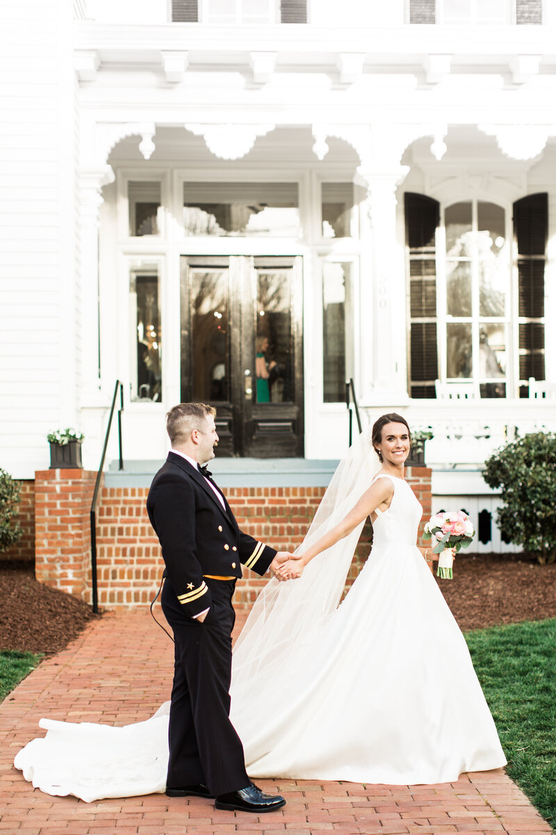 NC Bride and Groom