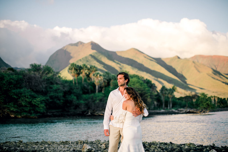Olowalu Landing Honeymoon session by Mariah Milan