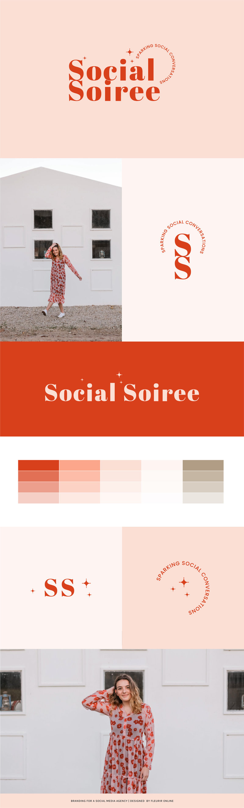 Social Soiree Brand Board