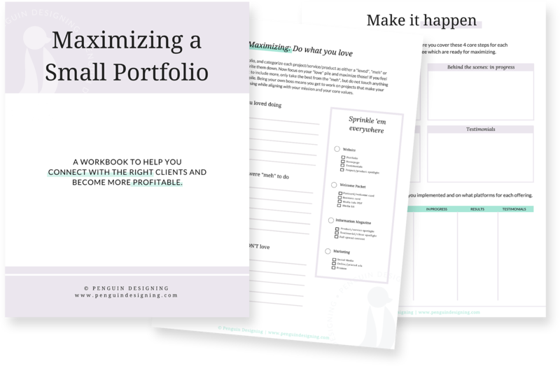 Maximize a small portfolio workbook