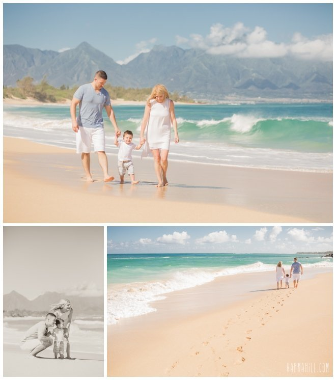 You will get wet on your Maui family portrait session