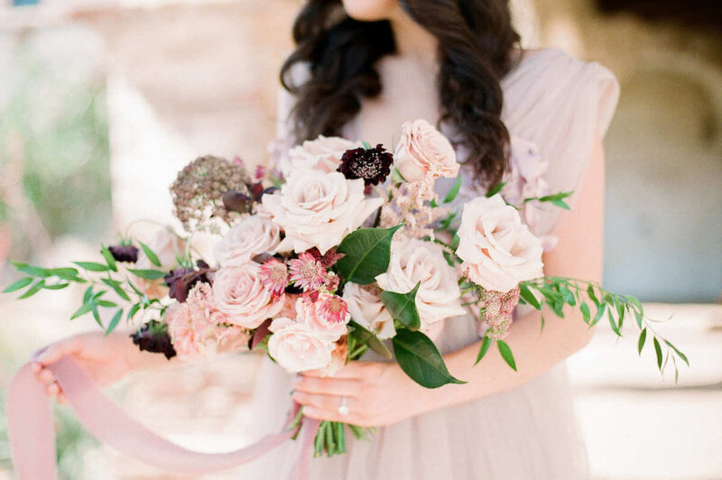 Southern California wedding bouquet captured by Katherine Rose Photography  in San Diego